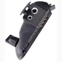 mini walkie talkie baofeng toptan satış-Su geçirmez Walkie talkie Kulaklık Aksesuarları için baofeng uv-9r Ses Adaptörü BF-A58 BF-9700 UV-5S GT-3WP M-XR için UV-XR