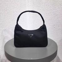 Wholesale cross body backpacks girls resale online - new backpacks designer purses women genuine leather plain nylon zipper artwork handbag hobo bag women letter wallets