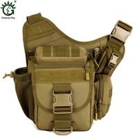 модные сумки для фотоаппаратов оптовых-Men Shoulder Bag  Travel DSLR Camera Crossbody Bag Fashion Man Nylon Messenger Bags Male  Cross Body New