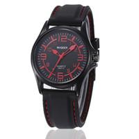 Wholesale cool black watches for men resale online - Male watches for man s watches Men Silicone strap belt Sport Cool good quality Quartz colck Hours Wristwatches dropshipping hot