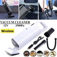 Wholesale machine for cleaning resale online - Handheld Vacuum Cleaner Auto Dust Cleaning Machine Electric Floor Sweeper for Home Vehicle Wet Dry Cyclonic Cleaner HEPA Filter