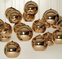 eski dükkan ışığı toptan satış-Vintage Altın / Gümüş Kaplama Cam Gölge Sarkıt Kordon 1-1.5 m Tel Modern Mağaza / Bar / Salon Kolye Işık E27 110 * 240 V