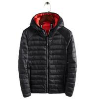 mens windproof coat toptan satış-Coats lüks ceket Kalınlaşmak Parkas ısıtın Yumuşak mens tasarımcı kış mont ceket kuzey ceketler Açık Windproof Casual
