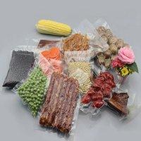 beutel reis großhandel-Großhandel 9 * 13cm Open Top-500Pcs / Lot löschen Lebensmittel Vakuum-Verbindung Heat Seal Poly-Satz-Beutel Hot Dogs Reis Food Storage
