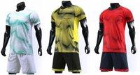 futbol takımları toptan satış-İndirim Özelleştirilmiş futbol üniforma kitleri Spor Futbol Jersey Formalar ile Şort Futbol Giyim Kişilik Mağaza popüler Futbol Takımları