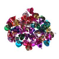 Wholesale candle diy resale online - 50pcs mm Colorful Metal Bells Pendants Bell Handmade DIY Christmas Decor Supplies Accessories