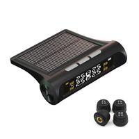 drahtloser solarmonitor großhandel-Freies verschiffen Reifendruckkontrolle Externe Solar Reifendruckprüfer Hohe Präzision Automotive Drahtlose Reifendruckkontrollsystem
