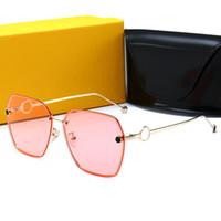 schwarze katze auge sonnenbrille europa großhandel-FENDI 0114 Beliebte Polarisierte Sonnenbrille Männer Brille Sonnenbrille für Männer Sonnenbrille Frauen Outdoor Sport Brillen Hohe Qualität Fahren Sonnenbrille