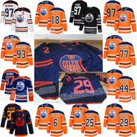 james neal jersey venda por atacado-18 James Neal Edmonton Oilers Connor McDavid Mike Smith leon draisaitl Ryan Nugent-Hopkins Kassian Klefbom Darnell enfermeira Adam Larsson Jersey