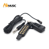 ingrosso volume dell'altoparlante dell'amplificatore-AQ-601 Pickup per cassa acustica pickup per chitarra acustica + pickup per cassa di controllo volume / tono