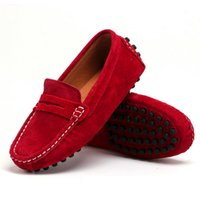 Wholesale loafers shoes for boys for sale - Group buy Spring And Autumn Genuine Leather Kids Shoes Loafers For Girls New Fashion Sneakers Children Peas Shoes Casual Boys Walking Y190525