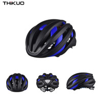 Wholesale bicycle helmet road size l resale online - Thikuo L size bicycle riding safety helmet cm head around piece road mountain bmx bicycle helmet in colors