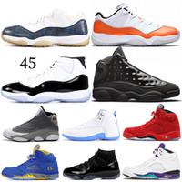 atmospheres großhandel-Neue 5 5s Grape Laney Basketballschuhe Bulls 12s Sneakerin Concord 11s Cap und Kleid 13s Atmosphere Grey Herren Sport Sneakers 7-13