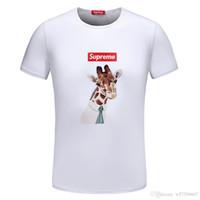 koreanisches neues produkt großhandel-2019 sommer Neue Produkt Männlichen Stil Korean Edition Kurzarm Einfache Freizeit Jugend Druck Trend T-shirt-