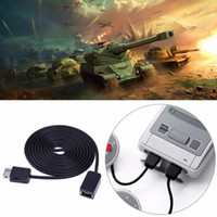 Wholesale nes mini controller for sale - Group buy 1 M Extension Cable wire Game Extender Cord for Nintendo SNES Classic Mini controller for NES controller for Wii controller