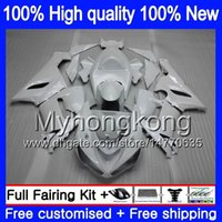 Wholesale fairings pearl white resale online - Body For KAWASAKI ZX ZX R CC R ZX636 MY ZX CC ZX6R ZX600 ZX ZX R Good Pearl White Fairing