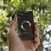 siyah kart boşlukları toptan satış-Black metal kartvizit boş süblimasyon metal kartvizit
