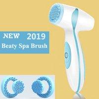 sonic hautpflege pinsel groihandel-Dropshipping-Verbindung für Vip Elektro Gesichtsreinigung Pinsel Sonic Pore-Reinigungsmittel Nu Galvanic Spa Skin Care-Gesichts-Lift