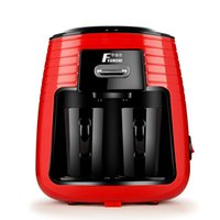 máquina de copos de plástico venda por atacado-Casa Prático Bebedor de Chá Portátil Plástico Automático Completo Mini Máquina de Café Dupla Copos de Fácil Utilização de Alta Qualidade 99yd Ww