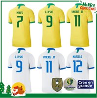 g g camisas al por mayor-2019 camiseta de fútbol de Brasil COUTINHO PAULINHO MARCELO G JESUS 2018 2019 2020 Brasil COSTA camiseta de fútbol de local visitante hombre