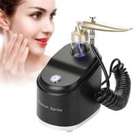 micro pulverizadores al por mayor-Facial Anti-envejecimiento de la piel Micro-nano Hidratante Oxígeno Pulverizador Rejuvenecimiento Facial Arrugas Retirar la máquina de pulverización
