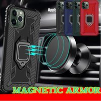 Wholesale chinese car phone holder for sale - Group buy Car Holder Phone Case For Iphone PRO MAX XS MAX XR X Plus Samsung Galaxy S10 Note Pro Soft TPU Ring Bracket Back Cover