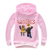 2c9e7a9e19c 2-14Y Kids Hoodies Roblox Hoodie Boys Sweatshirt Long Sleeve Girls Jacket  Outwear Costumes Clothes Children Casual Jumpers