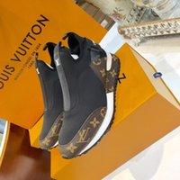 senhoras de marca calçados esportivos venda por atacado-os mais recentes sapatilhas desportivas Shoes Luxury58 botas das mulheres Marca Metade Botim Lady Designerss Couro vestido Botas Casual