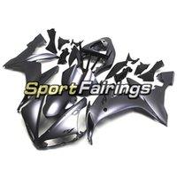 ingrosso matrici nere di colore nero-Moto in plastica per iniezione Scafo per Yamaha YZF1000 R1 Anno 2004 2005 2006 Kit di carenatura in plastica nera opaca Kit carrozzeria in ABS nero