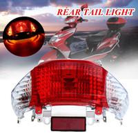 motosiklet kuyruk sinyal lambası toptan satış-Motosiklet Scooter Için 50cc Arka Kuyruk Işık Dönüş Sinyali Lambası Çin Taotao Güneşli Gy6 Için