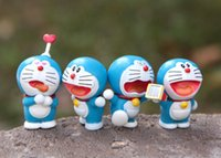 Wholesale doraemon big toy for sale - Group buy 8 kinds of Doraemon robot cat around animation treasure treasure Jingdong hand made ornament children s grabbing machine toy