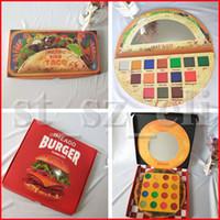 16 gölge paleti toptan satış-IMEAGO Göz Makyaj 15 renkler Viva Taco 16 renkler Hamburg Burger Mat Göz Farı Lezzetli Göz Farı Paleti