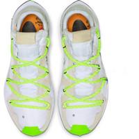 picos suaves de atletismo venda por atacado-2019 Novo OFF Zoom Terra Kiger 5 Homem Mulheres Running Shoes Preto Branco Verde Atleta em Progresso CD8179-100 Sneakers