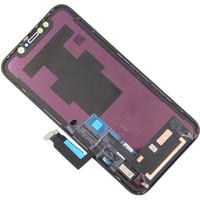 pantalla de repuestos iphone al por mayor-Para iPhone X LCD de pantalla táctil XS Sin Dead Pixel OLED ensamblaje del panel para el iPhone XS Max XR Pantalla LCD de repuesto Repuesto
