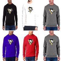 39c62087f5828b ingrosso uomini di camicia pinguino-Nuova stagione Uomo Pittsburgh Penguins  Any Name Any Number Rosso