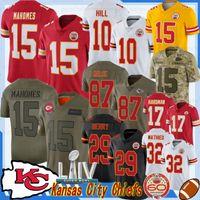 Wholesale 15 Patrick Mahomes City Jersey II Travis Kelce Tyrann Mathieu Berry Houston Hardman Houston Watkins new Jersey