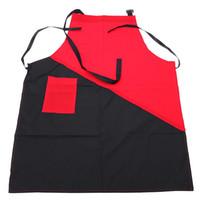 avental preto vermelho venda por atacado-Cabeleireiro de cabeleireiro para avental de corte de cabelo Cabeleireiro de cabeleireiro para avental de corte profissional preto e preto