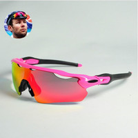 mejor marca pc al por mayor-Marca Eyewear Best Quitely Most Popular Polarized EV Pitch Gafas Gafas de sol Eyewear para ciclismo Bicicleta Deportes gafas de montar UV400 5 lentes