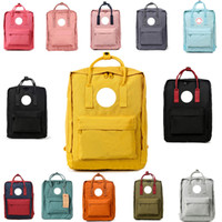 Wholesale laptop bag 17 inch women for sale - Group buy NEW Swedish Fox Student Waterproof Backpack Men and Women Fashion Style Design Bag Junior High School Canvas Backpack Brand Sports Handbag