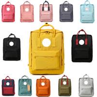 sacos de laptop de lona para homens venda por atacado-NOVO sueco Fox Student Waterproof Men Backpack e Mulheres Moda Estilo Design Saco Junior High School bolsas de lona Backpack Marca Sports Handbag