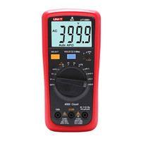 Wholesale uni testers for sale - Group buy UNI T UT136B UT136C Digital Multimeter AC DC volt Ampere meter Ohm Capacitance hFE Diode transistor tester with LCD backlight