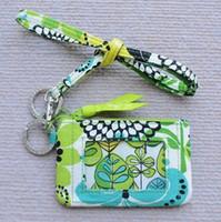 fundas pequeñas al por mayor-Zip ID Case ID Card Holder y cordón pequeño monedero