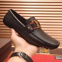 sapatos casamento casamento verão venda por atacado-2019 verão new highend marca mens real sapatos de couro vestido de sapatos de casamento dos homens confortáveis prom mens sapatos casuais projeto decorativo com qy