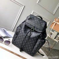 mochilas de couro para homens venda por atacado-Homens e mulheres bolsa de ombro geral, multi-funcional mochila grande, produção de couro, saco de lazer de montanha 17