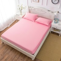 Wholesale microfiber soft sheets for sale - Group buy Bed Sheets Soft Brushed Microfiber Bedding Sheets Bed Fitted Sheet Elastic Sheets Twin Full Queen King Bedding Cover