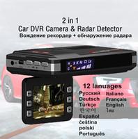 Wholesale radar camera for sale - Group buy Car Radar DVR V V In Anti languages Driving Recorder Video Camera Flow Detecting Dash Cam Car Detector