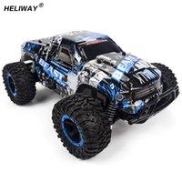 rc araba motorları toptan satış-Motorlar Sürücü Yüksek Hızlı Suv Rc Araba 4ch Elektrikli Hız Rc Yarış Bigfoot Buggy Radyo Kontrol Araba Hummer Oyuncak Araba Modeli Oyuncak Boy Için