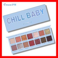 bebek kozmetiği toptan satış-2019 Yeni Cmaadu kozmetik Gözler makyaj Yılbaşı koleksiyonu CHILL BEBEK göz farı paleti 14 renkler göz farı yüksek kalite