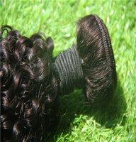 ingrosso capelli ricci brasiliani non trattati 6a-6a estensioni dei capelli vergini non trattate 10-30 pollici capelli ricci crespi brasiliani tessitura tessuto 100% capelli umani