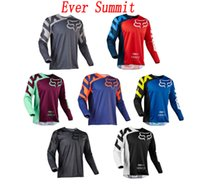 Wholesale race clothes for sale - Cycling clothing Outdoor sports racing bicycle clothing long sleeve motorcycle multiple colors available opa moto cross jersey